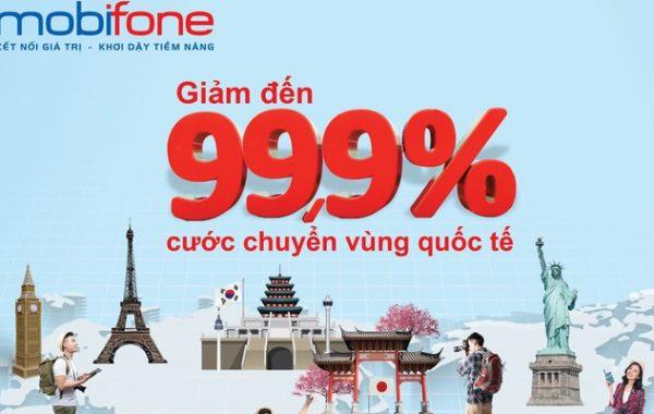 Tri ân khách hàng, MobiFone giảm 99% cước viễn thông quốc tế