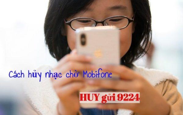 Hướng dẫn cách hủy nhạc chờ Mobifone chỉ với 1 tin nhắn đơn giản