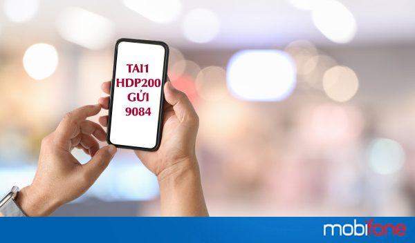 HDP200 Mobifone chỉ 200k có ngay ưu đãi combo thoại, mạng rẻ bất ngờ