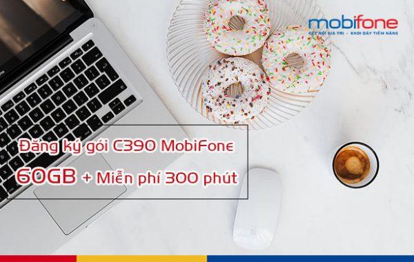 Hướng dẫn đăng ký nhận ưu đãi gói C390 Mobifone có data, thoại
